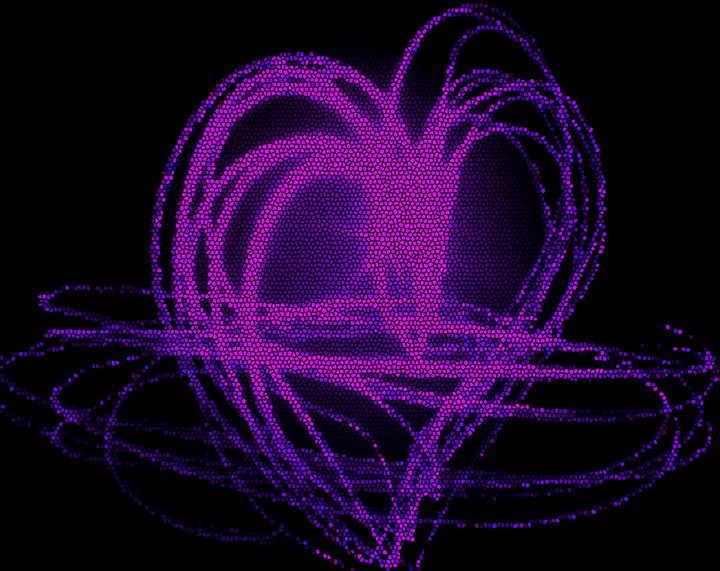 Purple Heart - Blessed by Gaia