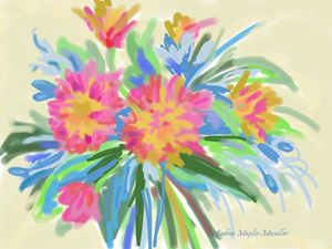 Abstract Floral 3