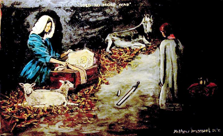 Nativity king breaks sword - Mathew Imanuel