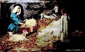 Nativity king breaks sword