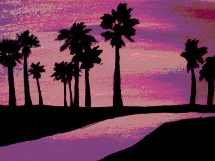 Palm Trees - T Stastny