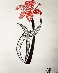la tulipe à motif - Wezalen's gallery
