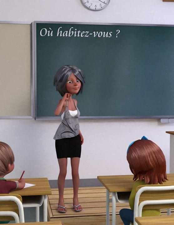 Teacher - Maîtresse - Victor Daniel