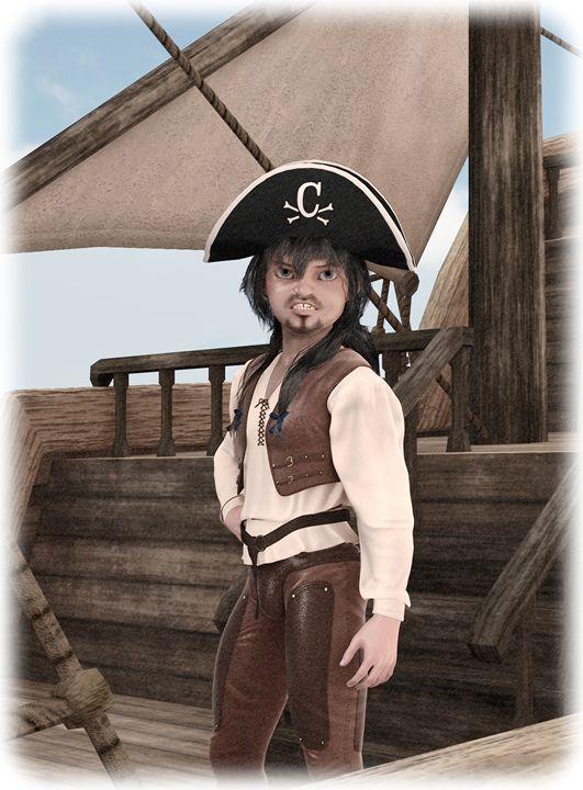 Cover - Captain Craig - Couverture 1 - Victor Daniel