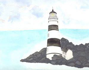 Lighthouse by Katie Jardas