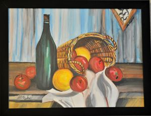 Still Life Water Color Painting