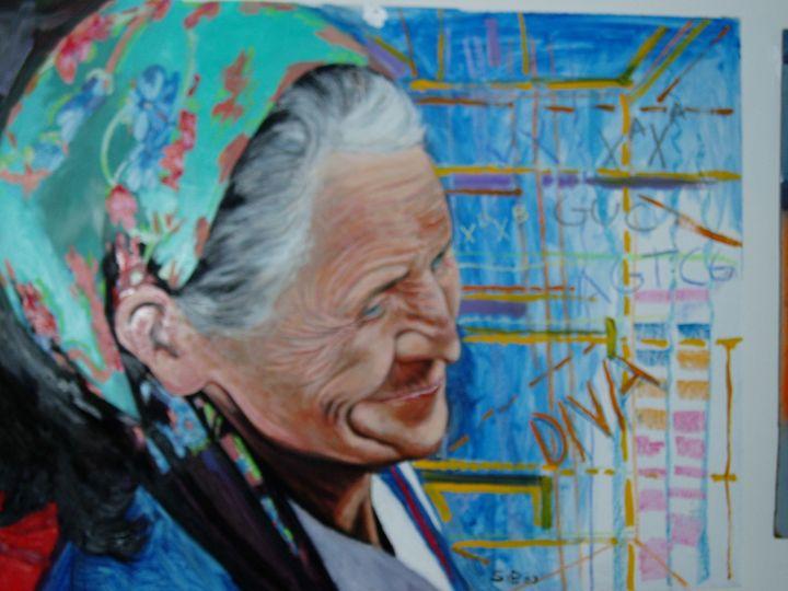 A Gyosy Woman - John H. Sibley