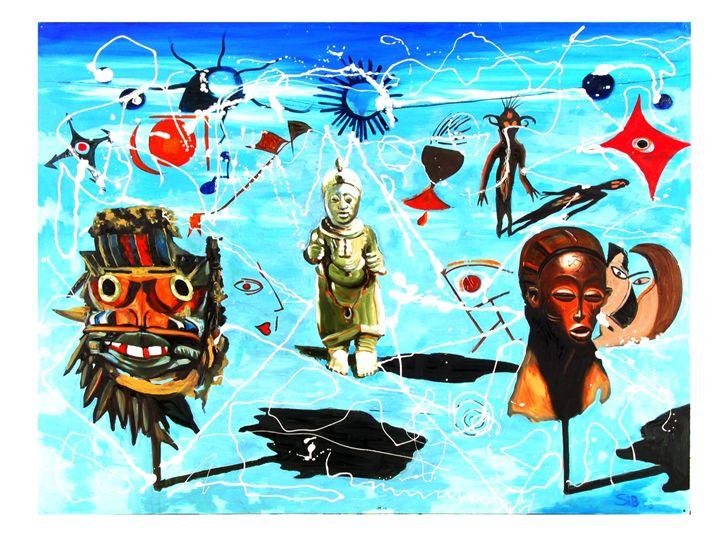 African surrealscape - John H. Sibley