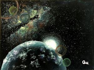 Acrylic Galaxy