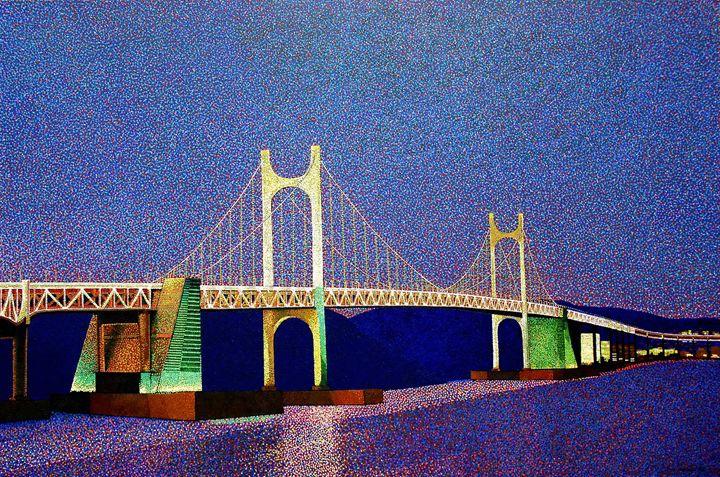 Gwangan bridge Korea - JUCHUL KIM