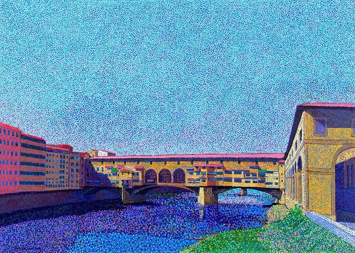 Ponte Vecchio Firenze Italy - JUCHUL KIM