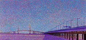 Incheon Bridge.Korea