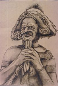 Highlands tribe man