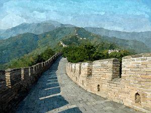 Chinese wall - China - Asia