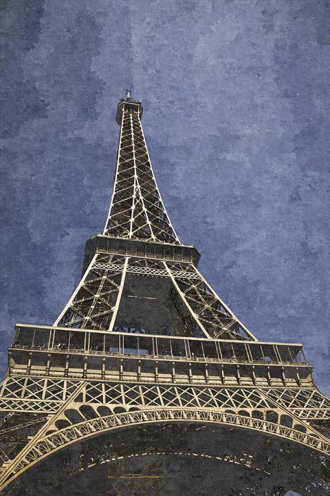 Eiffel tower - France - Paris - Min Art