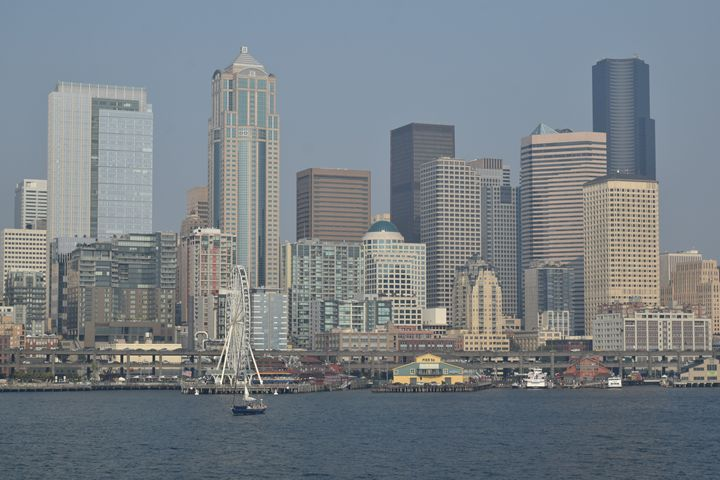 Seattle downtown front #1 - Ngtimages