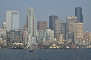 Seattle downtown front #1