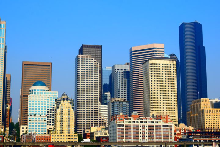 Seattle downtown skyline - Ngtimages