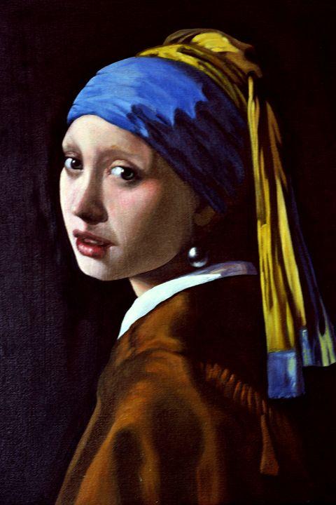 Girl with a Pearl Earring - atelje lerok