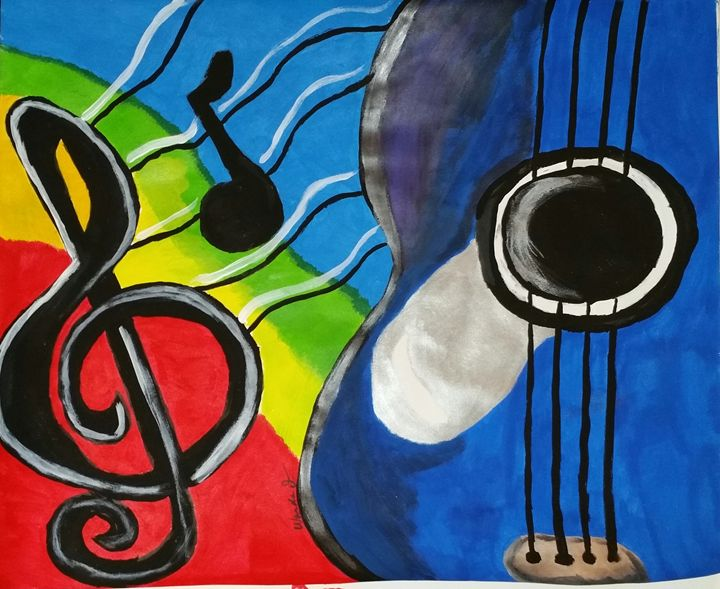 Music in the air - Creation by Wanda