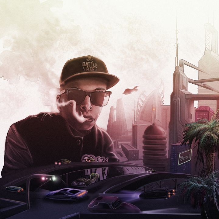 Demrick in Future Hollywood - Designs and Fine Art