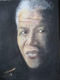 Nelson Mandela Acrylic Painting