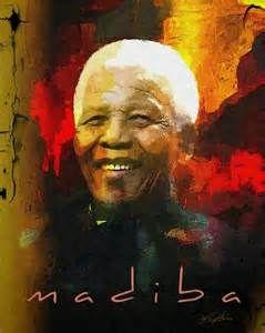 Nelson Mandela Acrylic Paintings