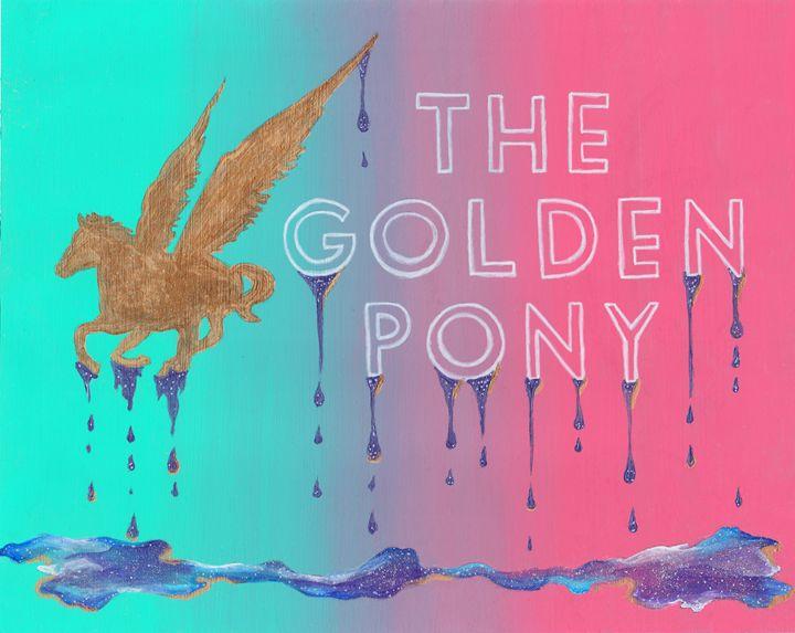 Golden Pony - MCPaints