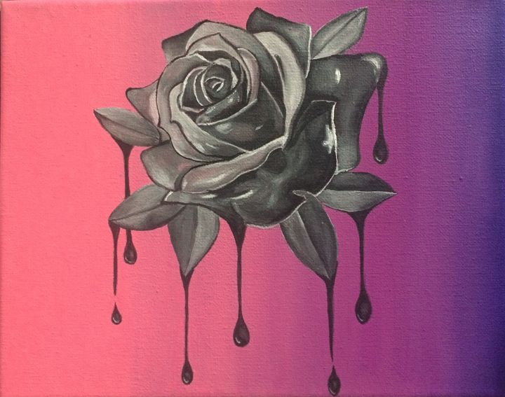 Yesterday's Rose - MCPaints