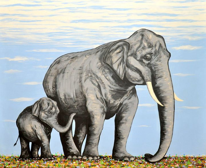 How to be an elephant - cipherus Lee