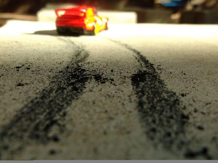 Rubber Burner - Perspective-S