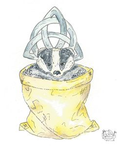 Badger In A Bag
