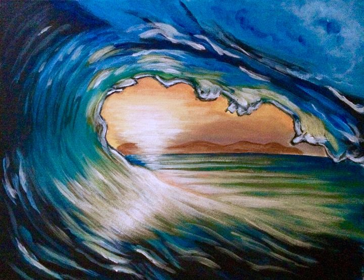 Ocean Glow - Susannah Helene Art
