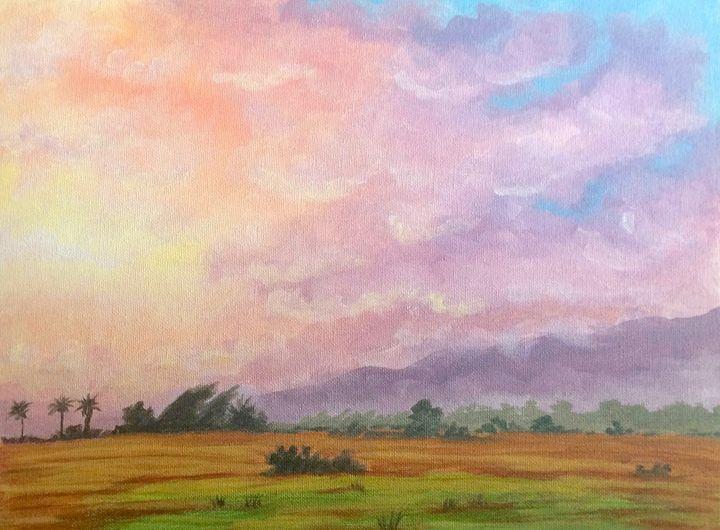 California Sunset - Susannah Helene Art