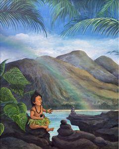 Aloha Rocks Menehune Balance