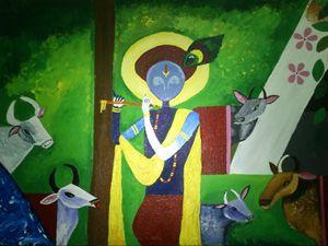 Enchanting Lord Krishna
