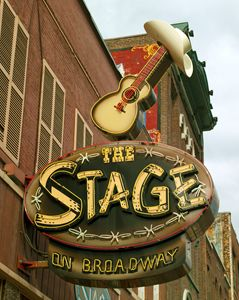 The Stage on Broadway, Nashville - FASGallery/ArtPal