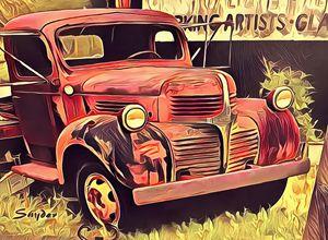 Abandoned Relic Harmony California - FASGallery/ArtPal