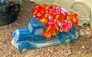 Mom's Flower Garden by Floyd Snyder - FASGallery/ArtPal