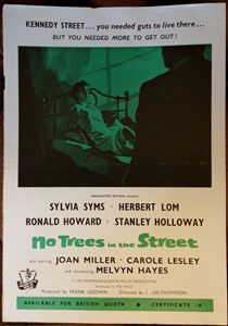 'No Trees in the Street'(1959)Poster