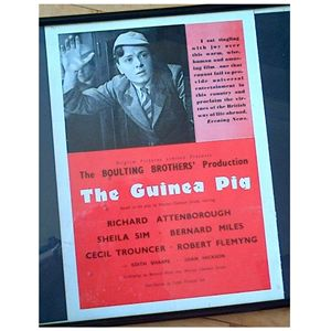 The Guinea Pig 1948 Film Poster