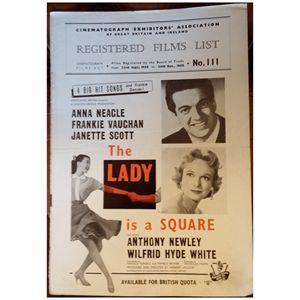 The Lady is a Square (1959) Poster