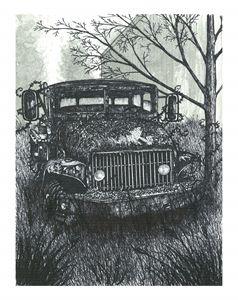 Abandoned Work Truck - Jonathan Baldock