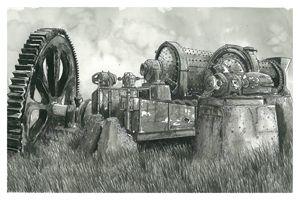 Old Mining Equipment, Baffin Island