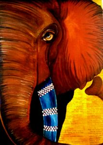 African Elephant by Daniele