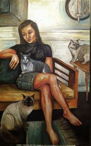 suzie and the cats