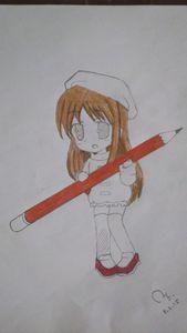 12 yrs old girl drawing