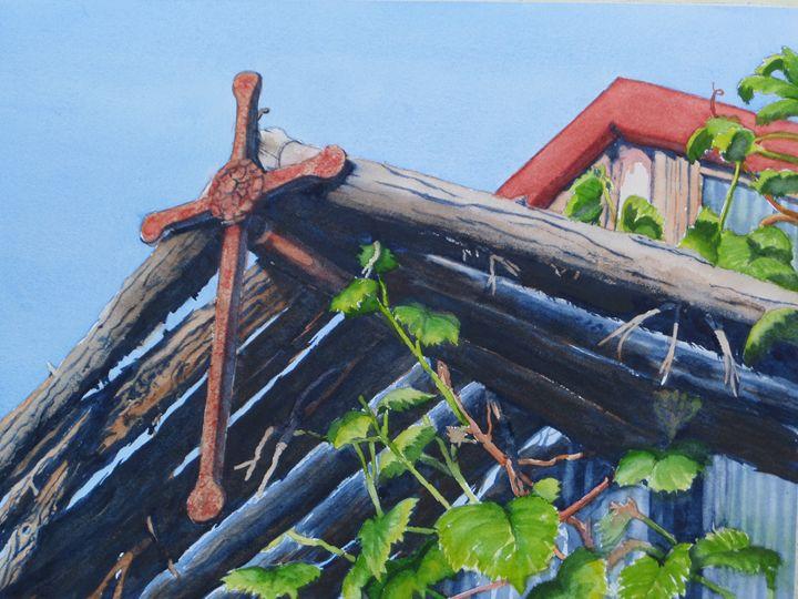 Greenhouse Chapel - Bettys Watercolor