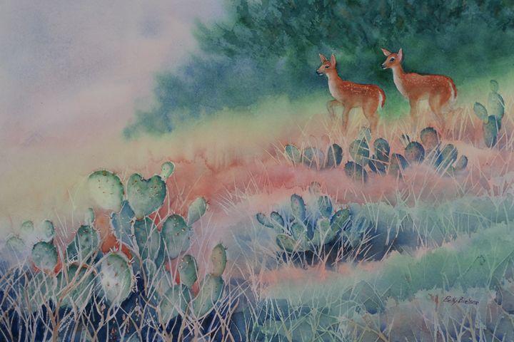 On Watch - Bettys Watercolor