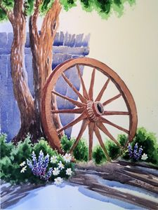 Wagon Wheel Tree